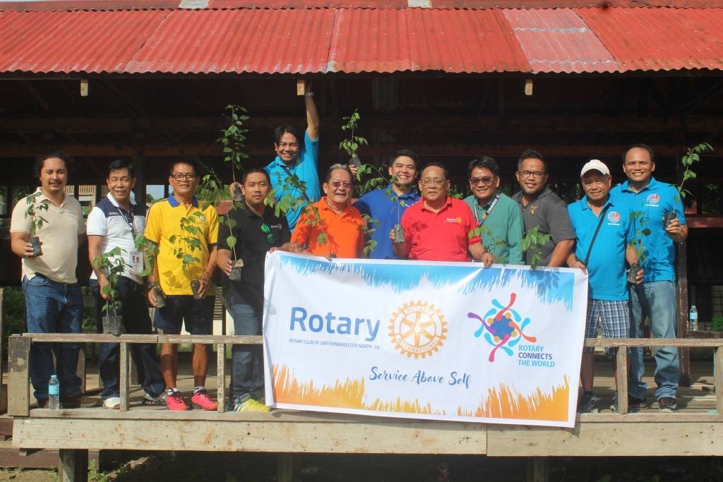 MLUC, Rotary initiate tree planting